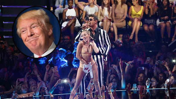 dreher miley cyrus greater than donald trump