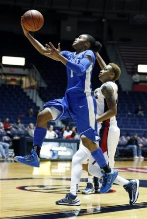 Mathies leads No. 10 Kentucky past Ole Miss 90-65