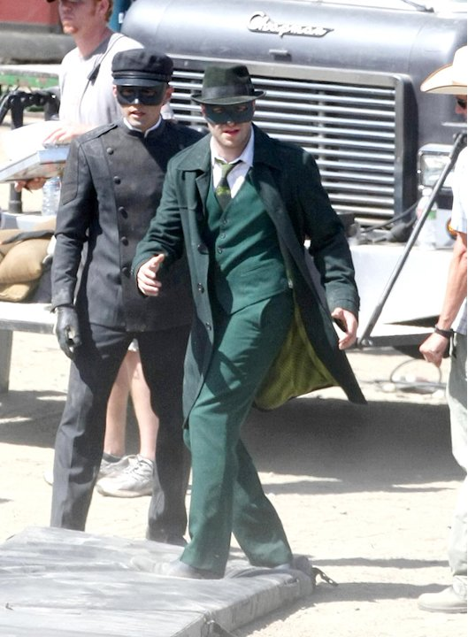 Rogan Seth Green Hornet Set