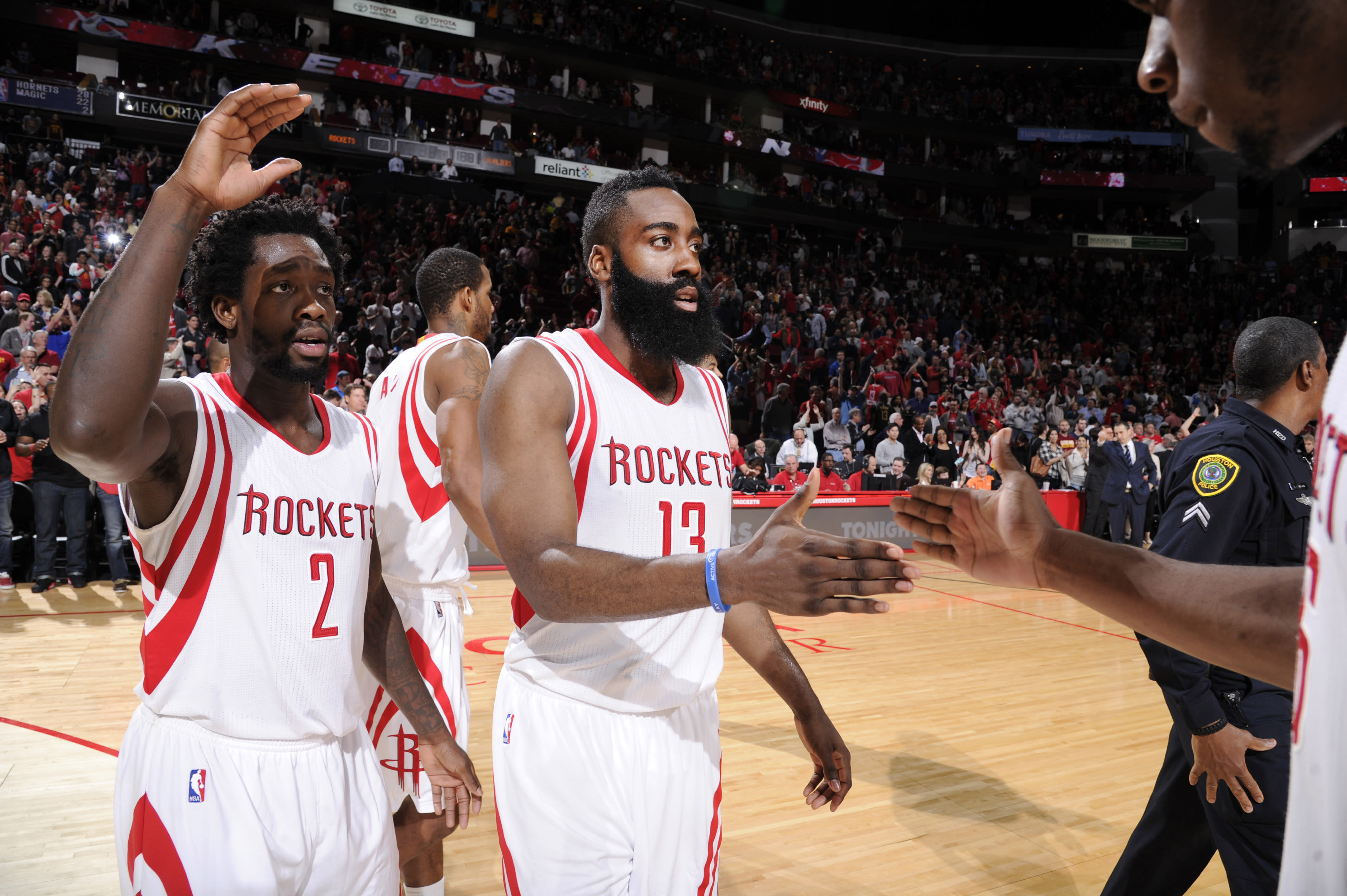 Harden's 33 points leads Rockets over Cavs 105-103 in OT
