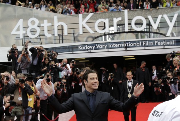 U.S. actor Travolta arrives …