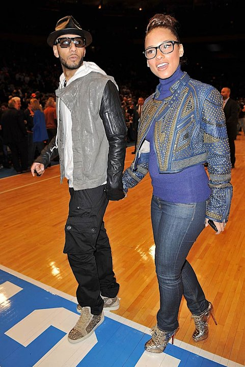 Swizz Beatz Keys Knicks Game