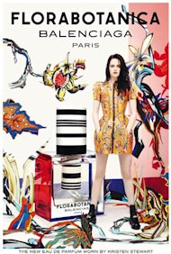 FIRST LOOK! Kristen Stewart for Balenciaga fragrance Florabotanica