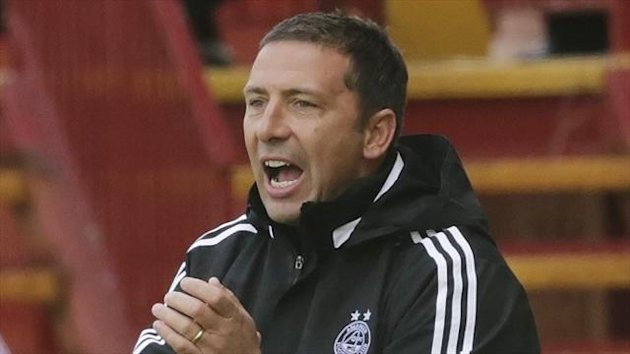 Derek McInnes is delighted with the commitment of his Aberdeen players