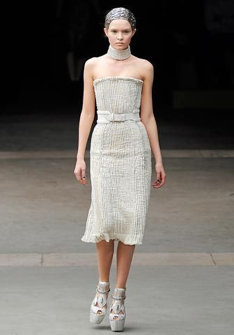 Alexander McQueen, FW 2011  Sarah Burton has turned McQueen into a more mass-appeal brand and this…
