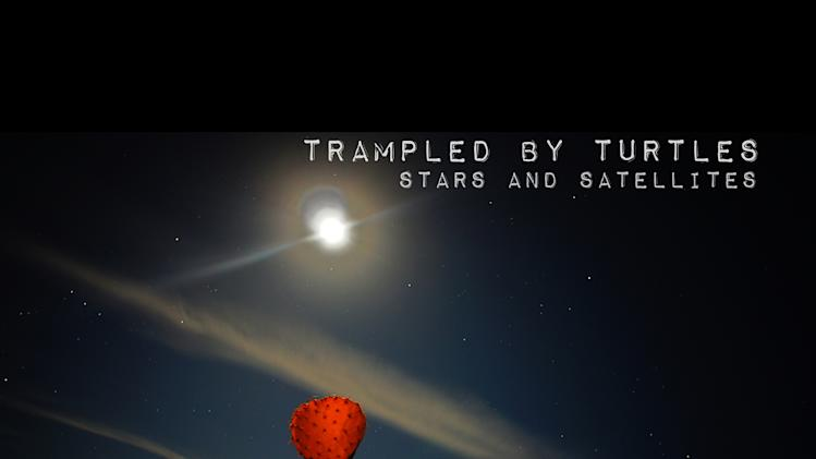 "In this CD cover image released by Thirty Tigers, the latest release by Trampled By Turtles, ""Stars and Satellites,"" is shown. (AP Photo/Thirty Tigers)"