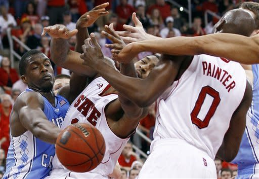 No. 7 North Carolina beats rival NC State 86-74