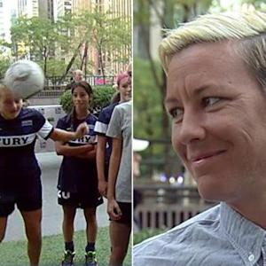 Soccer star Abby Wambach on protecting kids from concussions