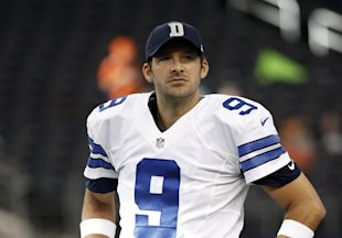 Tony Romo, rehabbed and ready (AP Photo/Brandon Wade)