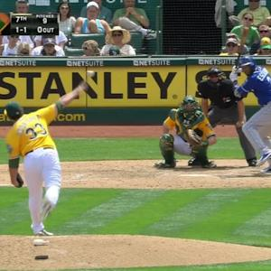 Muncy's diving stop