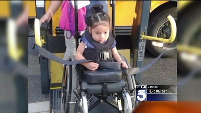 Help Sought After Specialized Wheelchair Is Stolen From Santa Ana Girl Named Miracle
