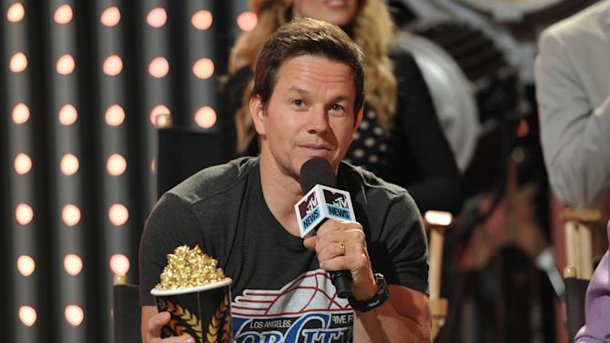 "Member from the cast of  ""Pain & Gain"" actor Mark Wahlberg is seen at ""The MTV Movie Awards Sneak Peek Week"" on Tuesday, April 9, 2013 in Universal City, Calif. (Photo by John Shearer/Invision for MTV/AP Images)"
