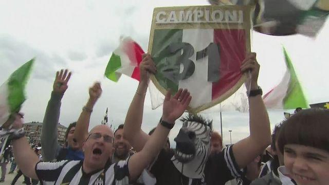 Reaction after Juventus retain Serie A title
