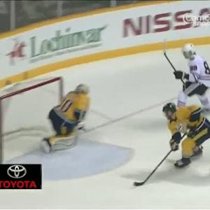 Kane backhands one top-shelf on Hutton