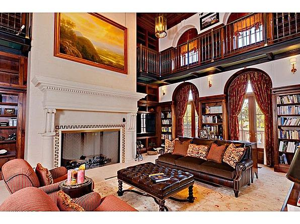 One tycoon is selling two of America's priciest mansions bradbury sitting room