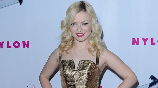Francesca Eastwood is Miss Golden Globe 2013