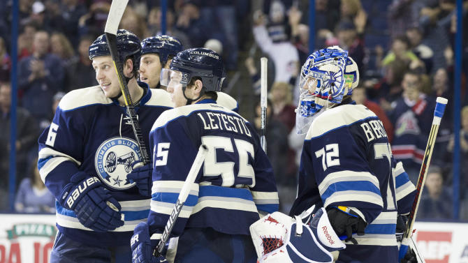 NHL: St. Louis Blues at Columbus Blue Jackets