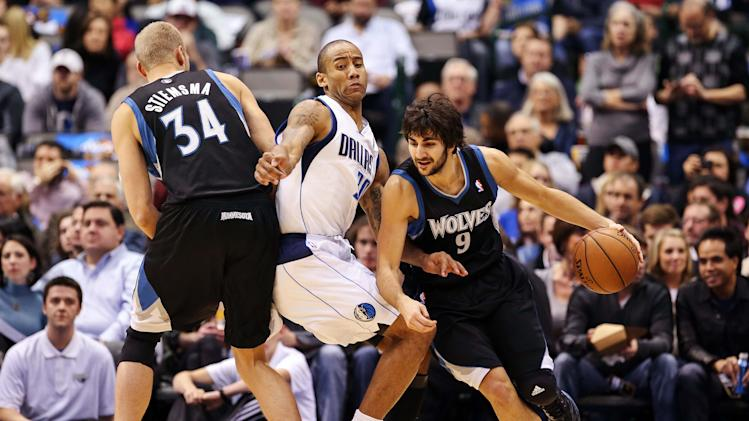 NBA: Minnesota Timberwolves at Dallas Mavericks