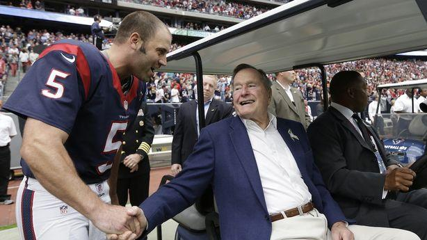 George H.W. Bush Is Officially Out of Intensive Care