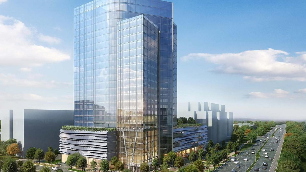 Plans for Reston's Tallest Building Experience Major Changes