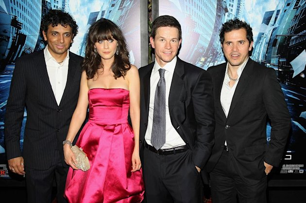 The Happening Premiere 2008 M. Night Shyamalan Zooey Deschanel Mark Wahlberg John Leguizamo