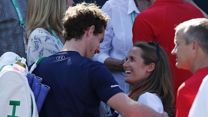 Tennis - Baby girl for British ace Murray