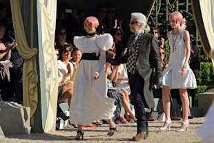 Karl Lagerfeld on Cara Delevingne, The Queen's Jubilee and Being a Queen