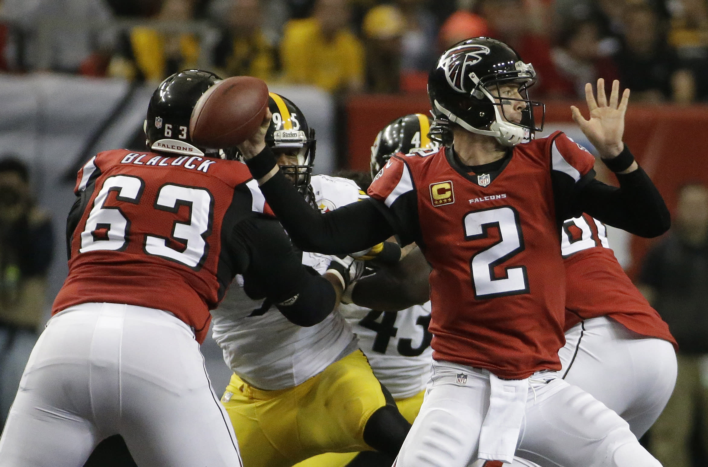 Falcons QB: Showdown with Saints just another game