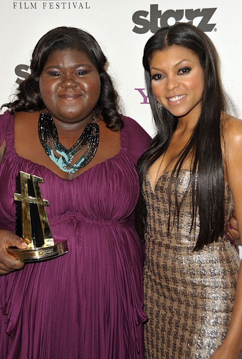 13th Annual Hollywood Awards Gala 2009 Gabourey Sidibe Taraji P Henson