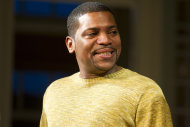 "FILE - In this Dec. 8, 2011 file photo, Mekhi Phifer appears at the curtain call for the opening night performance of the Broadway play ""Stick Fly"", in New York. Phifer is not used to be being shouted at, but it's part of his Broadway debut in ""Stick Fly.""(AP Photo/Charles Sykes, file)"