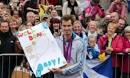 Thousands Greet Andy Murray In Dunblane