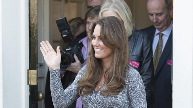 Duchess Of Cambridge Visits Hope House