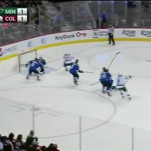 Semyon Varlamov Save on Ryan Suter (02:42/2nd)