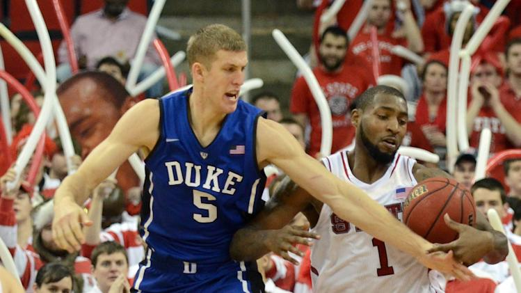 NCAA Basketball: Duke at North Carolina State