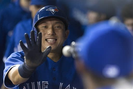 Arencibia homers as Blue Jays beat Yankees 8-4