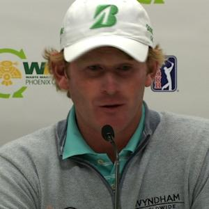Brandt Snedeker compares years before Waste Management