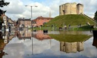 Clean-Up Under Way In York After Flood Misery