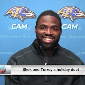 DDFP TV: Torrey Smith sings with Shek