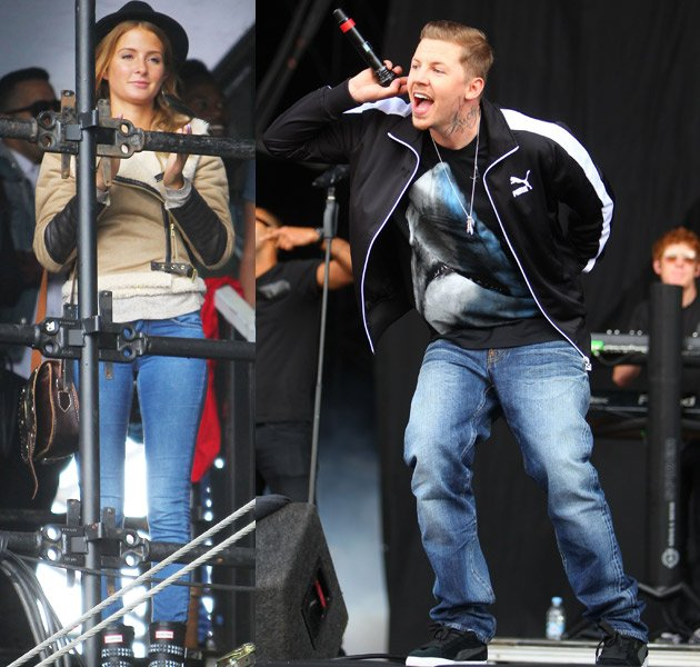 Millie Mackintosh, Professor Green, Hacnkey