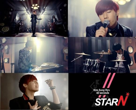 Kim Sung Kyu unveils band version music video of '60 Seconds'