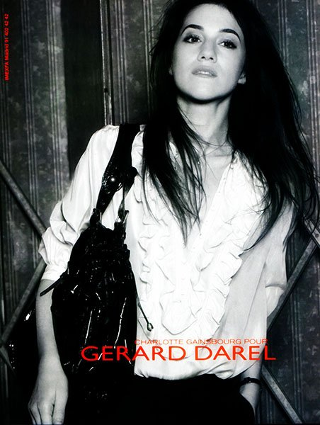 Charlotte Gainsbourg for Gerard Darel