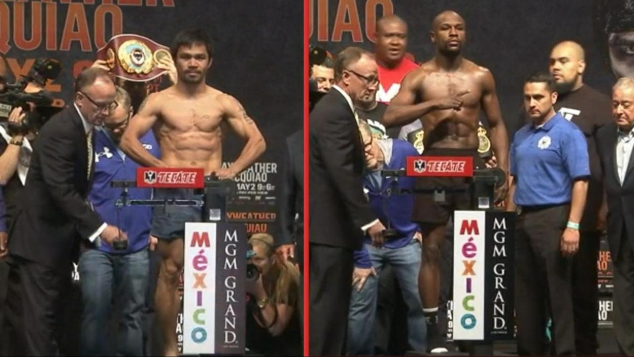 Mayweather-Pacquiao Hyped as Fight of the Century