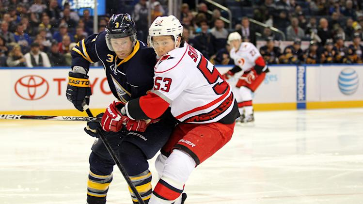 NHL: Carolina Hurricanes at Buffalo Sabres