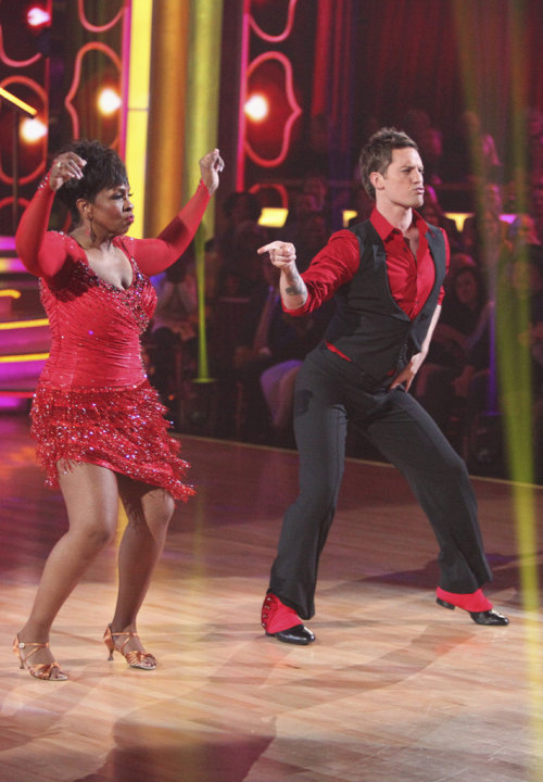 Gladys Knight and Tristan Macmanus perform on &quot;Dancing With the Stars.&quot; 