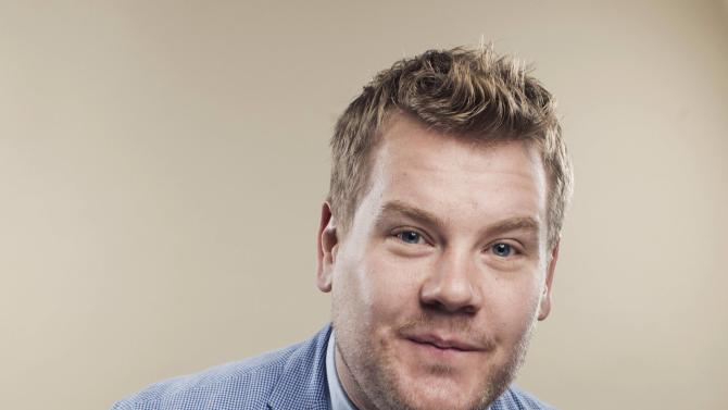 File photo of actor James Corden poses for a portrait in New York
