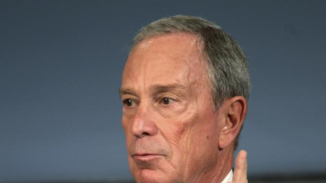 """New York City Mayor Michael Bloomberg speaks at a news conference in New York, Thursday, Sept. 13, 2012. New York City cracked down on supersized sodas and other sugary drinks Thursday in what is celebrated as a groundbreaking attempt to curb obesity and condemned as a breathtaking intrusion into people's lives by a mayor bent on creating a """"nanny state.""""  (AP Photo/Seth Wenig)"""