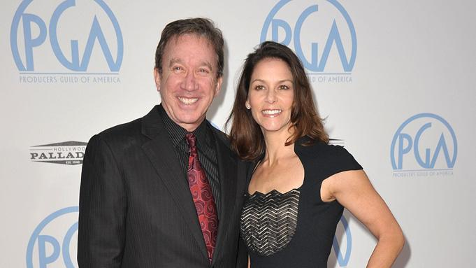 21st Annual Producers Guild Awards 2010 Tim Allen Jane Hajduk