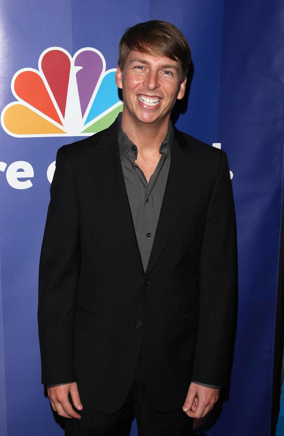 "FILE - In this May 17, 2010 file photo, actor Jack McBrayer attends the NBC Universal's Upfront presentation in New York. McBrayer stars in the animated film, ""Wreck-It-Ralph,"" which opened on Nov. 2, 2012.   (AP Photo/Peter Kramer, File)"