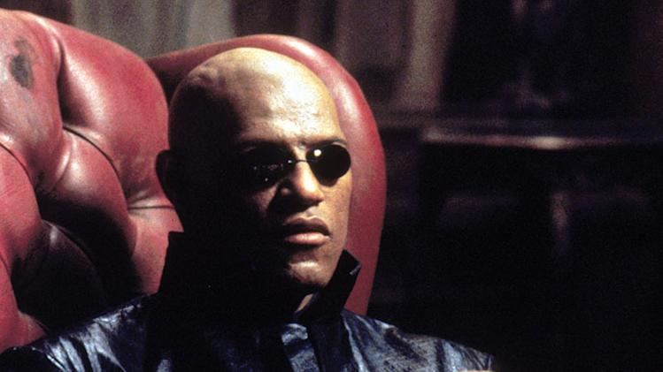 Laurence Fishburne The Matrix Still