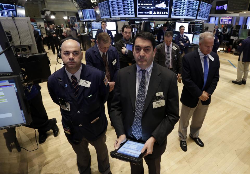 Stock market rebounds from worst day of the year